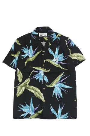 "3店舗別注"" BIRD OF PARADISE"" HAWAIIAN SHIRTS"