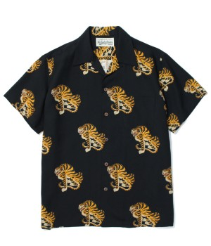"""TIGER"" S/S HAWAIIAN SHIRT"
