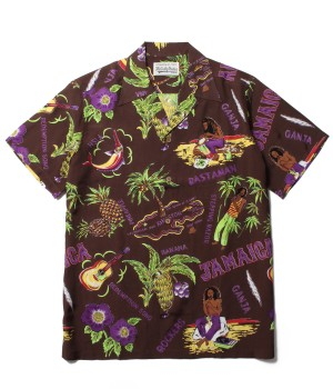 """JAMAICA"" S/S HAWAIIAN SHIRT"
