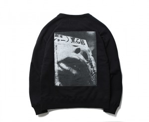 森山大道 × WACKO MARIA WASHED HEAVY WEIGHT CREW NECK SWEAT SHIRT ( TYPE-1)