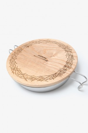 WOOD LID (FOR PLATE)