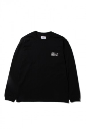CREW NECK LONG SLEEVE T-SHIRTS(TYPE-1)