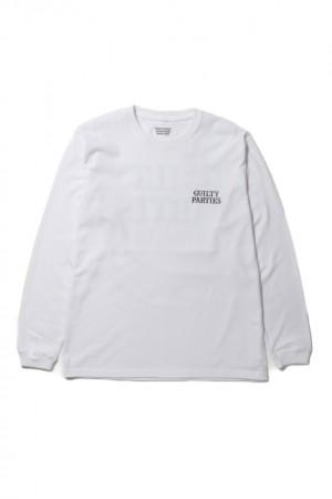 CREW NECK LONG SLEEVE T-SHIRTS(TYPE-1)
