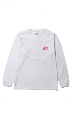 CREW NECK LONG SLEEVE T-SHIRTS(TYPE-4)