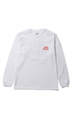 CREW NECK LONG SLEEVE T-SHIRTS(TYPE-4)