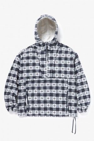 GUESS CHECK SAILING ANORAK