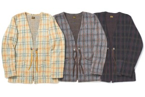 LANAI CHECK SHAGGY CARDIGAN