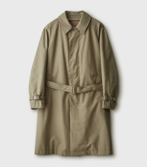 BELTED BAL COLOR COAT