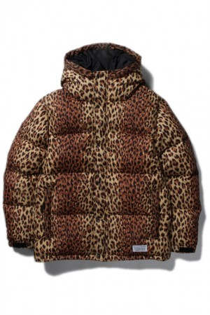 LEOPARD HOODED DOWN JACKET ( TYPE-1 )