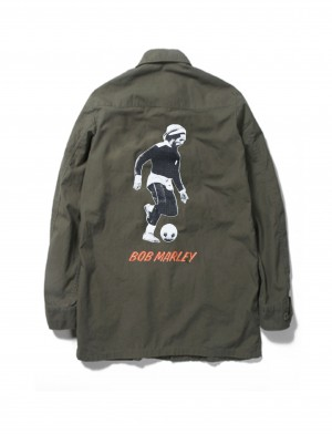 BOB MARLEY × WACKO MARIA FATIGUE JACKET ( TYPE-3)