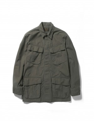 BOB MARLEY × WACKO MARIA FATIGUE JACKET ( TYPE-2)