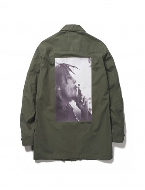 BOB MARLEY × WACKO MARIA FATIGUE JACKET ( TYPE-1)
