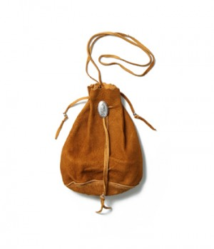 SUEDE SHOULDER BAG ( TYPE-2 )