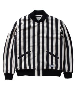 STRIPED VARSITY JACKET ( TYPE-1)