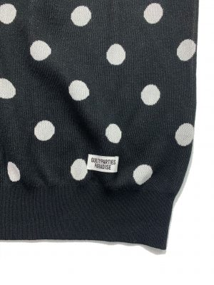 DOTS JACQUARD SWEATER
