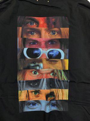 Eye Print Hooded