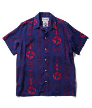 WOLF'S HEAD S/S HAWAIIAN SHIRTS