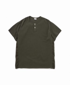 Easy Fit Henly-Neck Polo Shirts