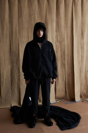 POLATEC FLEECE COZY HOODED BLOUSON
