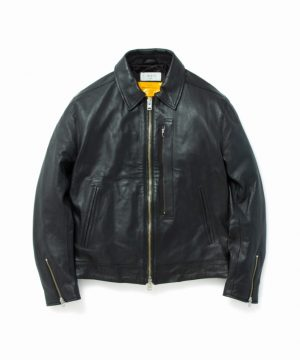 Vintage Zip Single Riders Jacket