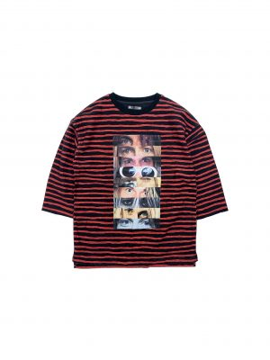 Eye Print Border L/S