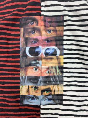 Eye Print Border L/S