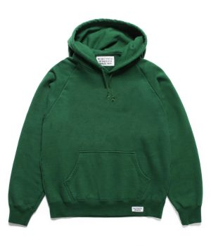 WASHED HEAVY WEIGHT PULLOVER HOODED SWEAT SHIRT ( TYPE-1)