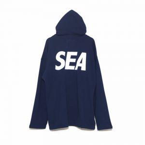 SEA BIG ZIP HOODIE