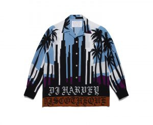 DJ HARVEY / L/S HAWAIIAN SHIRT