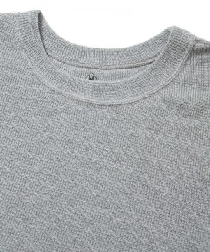 Easy Fit Cotton Knit Top