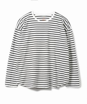 Cadet Easy Fit Round Border L-S Tee