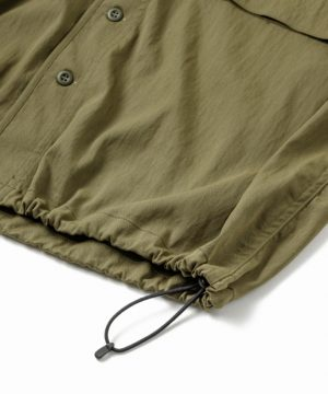 Military Drawstring Stretch Shirt