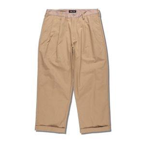 WDS TUCK TROUSERS