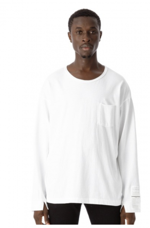 Side Slit Pocket L/S Tee