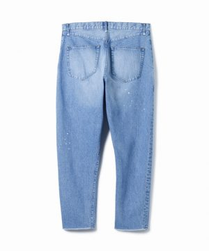 Easy Denim Pants – Damaged Easy Fit Tapered