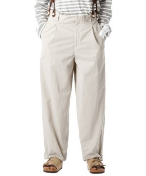Wide Suspend Tuck Pants