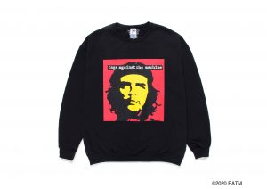 RAGE AGAINST THE MACHINE / CREW NECK SWEAT SHIRT ( TYPE-2 )