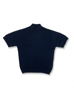 MOCK TURTLE NECK T-SHIRT