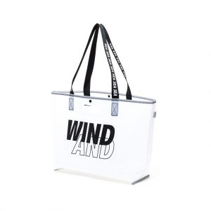 WDS × WEEKEND(ER) GHOST TEX tote bag