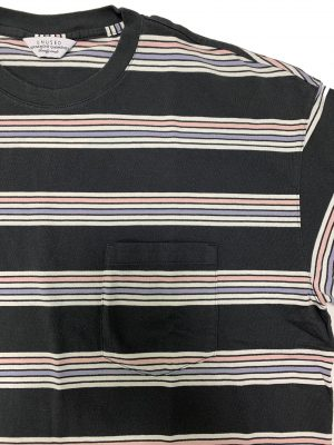 short sleeve border t-shirts