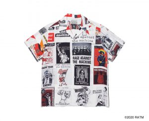 RAGE AGAINST THE MACHINE / S/S HAWAIIAN SHIRT