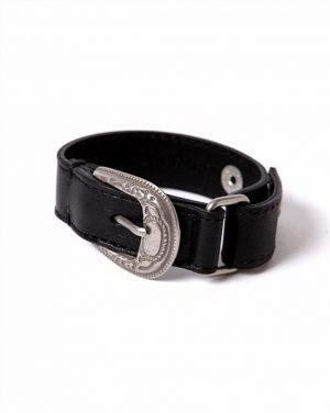COW LEATHER RODEO BRACELET