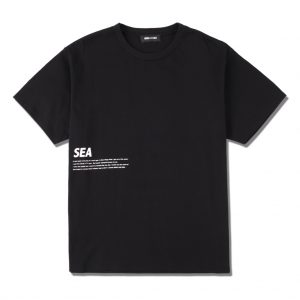 "SEA ""flower""PHOTO (SATIN) T-SHIRT"