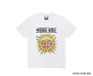 SUBLIME / WASHED HEAVY WEIGHT CREW NECK T-SHIRT ( TYPE-5)