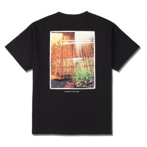 "SEA ""ornament""PHOTO (SATIN) T-SHIRT"