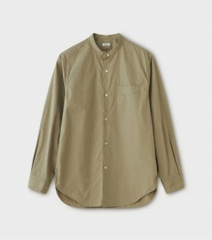 BAND COLLAR DRESS SHIRT