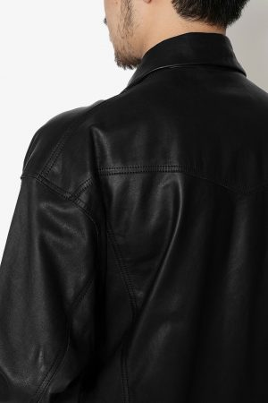 COW LEATHER M.C. JACKET