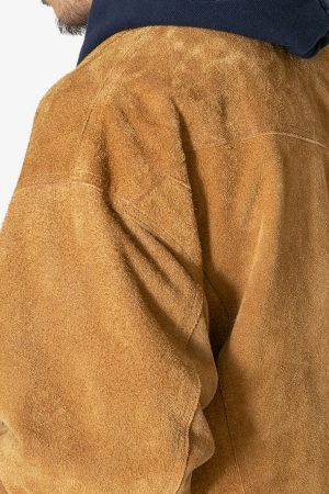 COW SUEDE M.C. JACKET