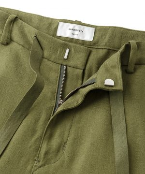 Easy Linen Pants-Easy Fit Tapered