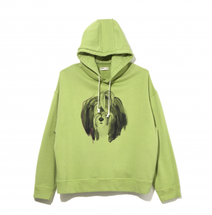 ILLUSTRATION HOODIE C by Judy Asano